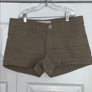 Cuffed Khaki Shorts!